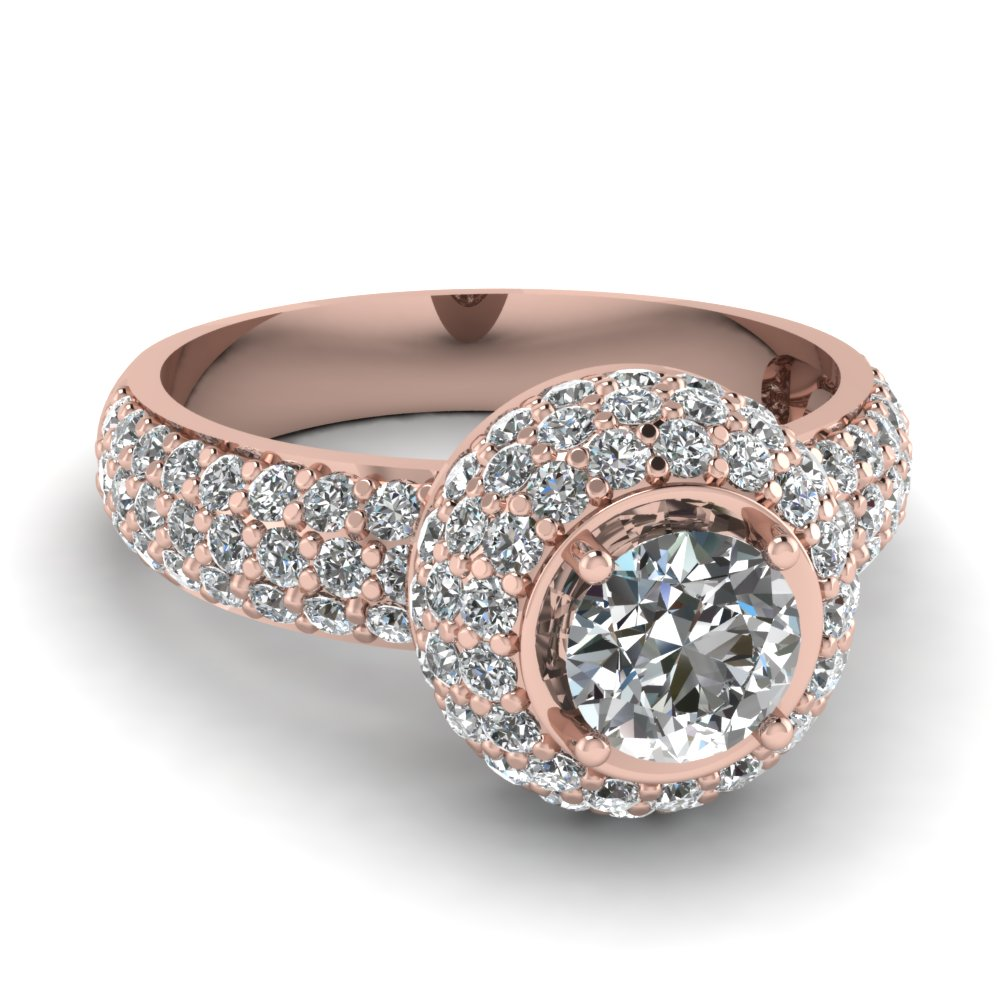 Latest Rose Gold Engagement Rings That Are Breathtaking