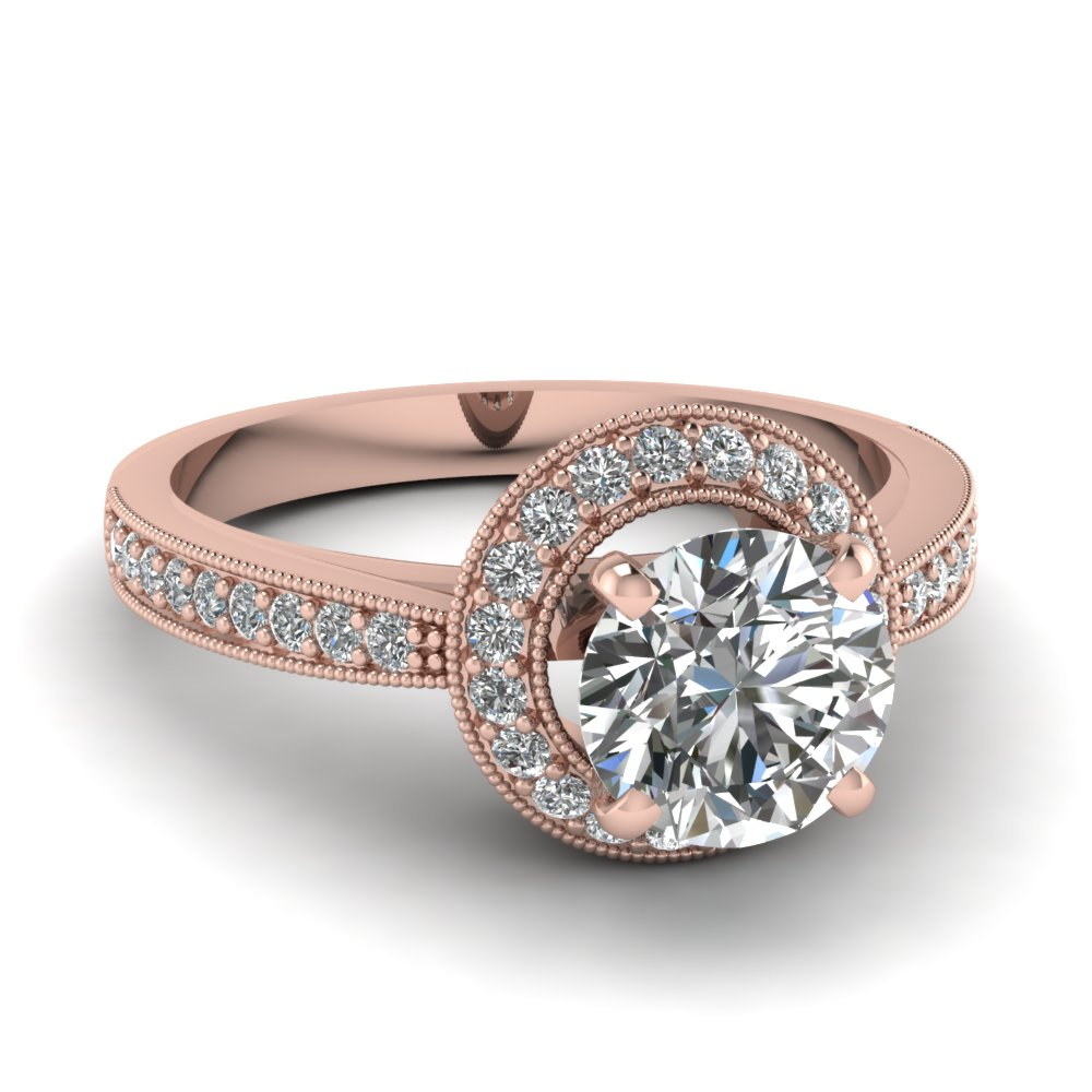 14k rose gold diamond wedding ring engagement ring pictures to pin on
