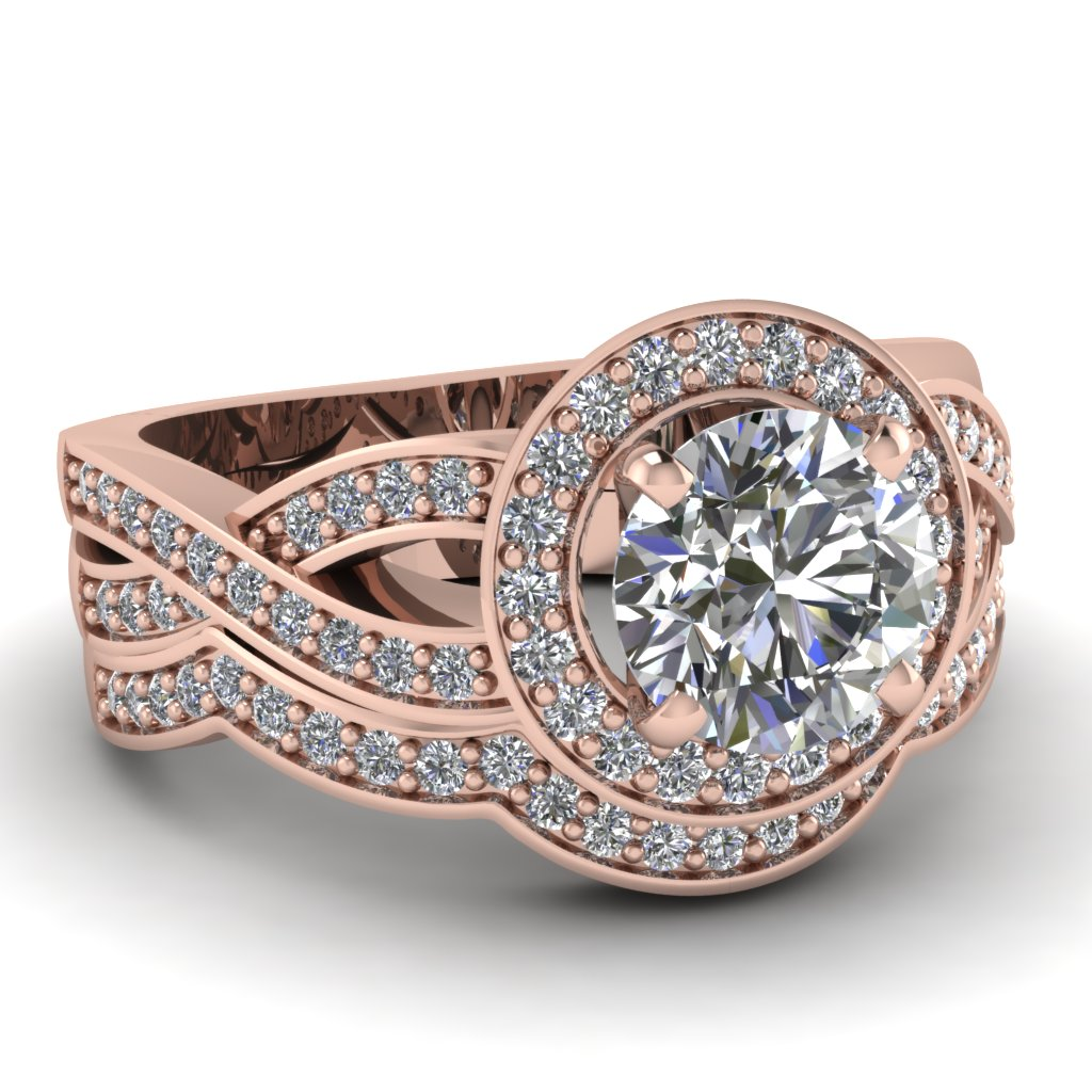 Rose gold wedding set Future wedding day