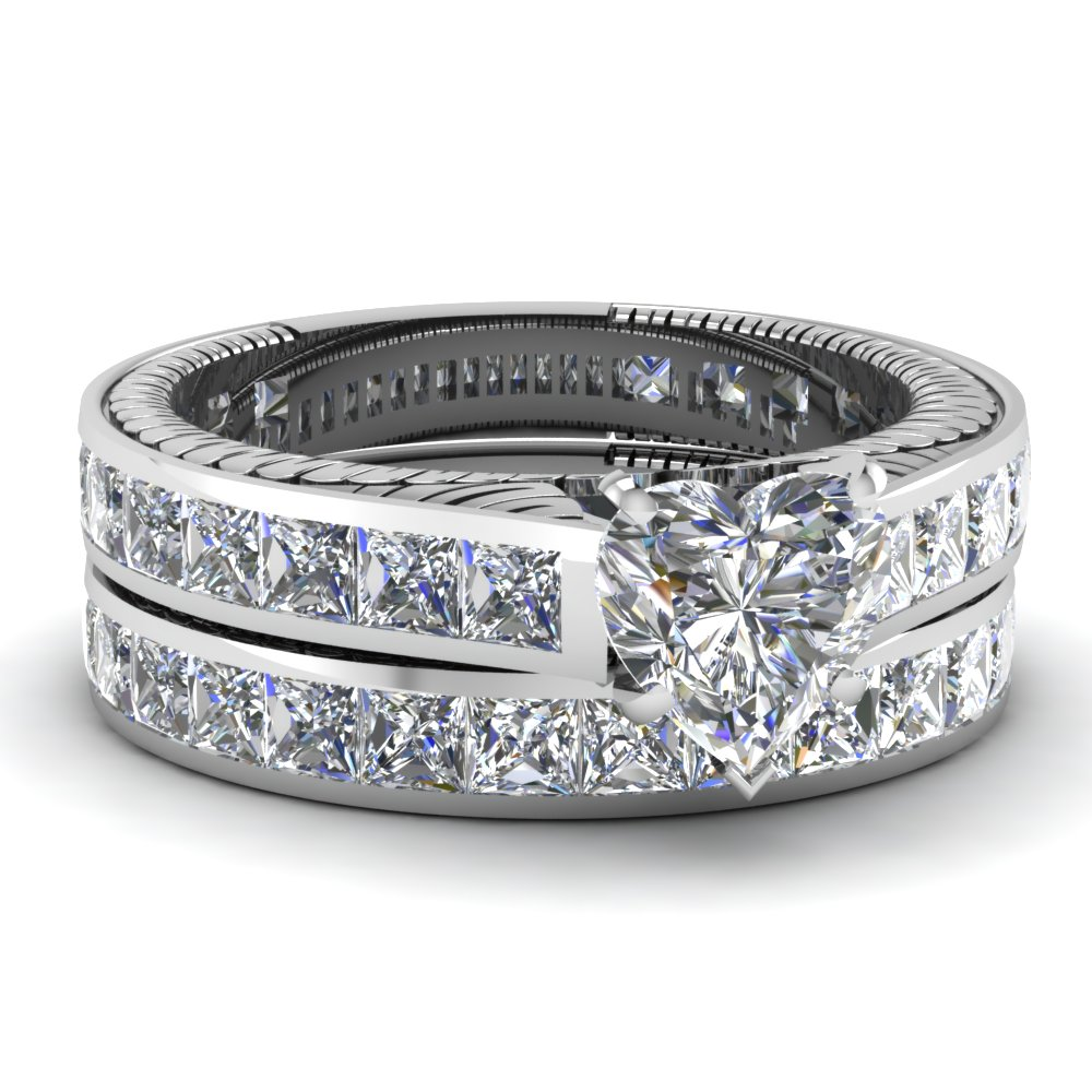diamond engagement wedding ring in channel set fdens372ht nl