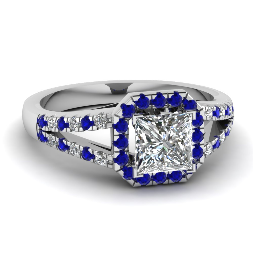blue sapphire engagement rings fascinating diamonds. Black Bedroom Furniture Sets. Home Design Ideas